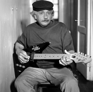 einstein-guitar