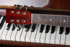 guitar vs piano